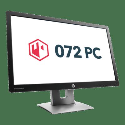 Productafbeelding voorkant HP EliteDisplay E232 monitor