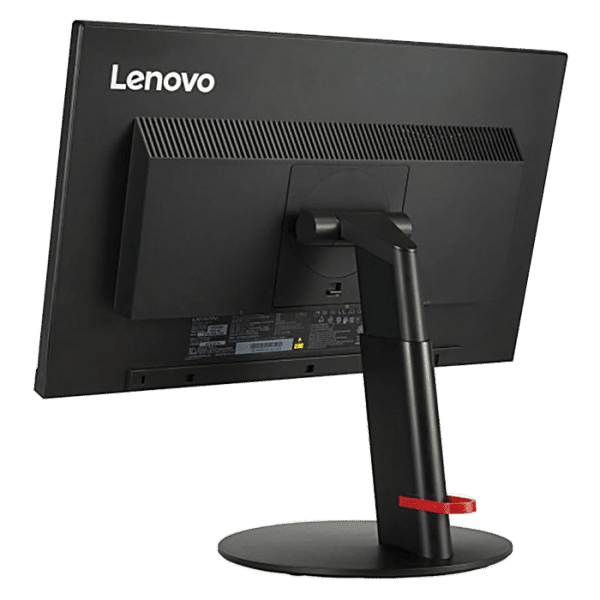 Productafbeelding van achterkant Lenovo ThinkVision T23i monitor