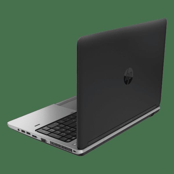 Productafbeelding van zij- en achterkant HP ProBook 650 G1 laptop