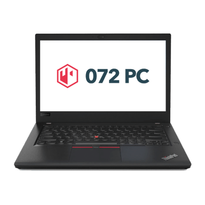 Productafbeelding van voorkant Lenovo ThinkPad T470 laptop
