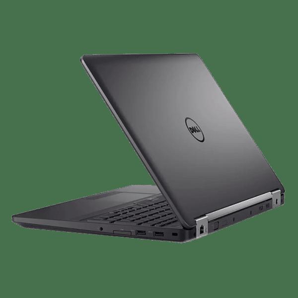 Productafbeelding van zij- en achterkant Dell Latitude E5570 laptop
