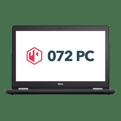 Productafbeelding van voorkant Dell Latitude E5570 laptop