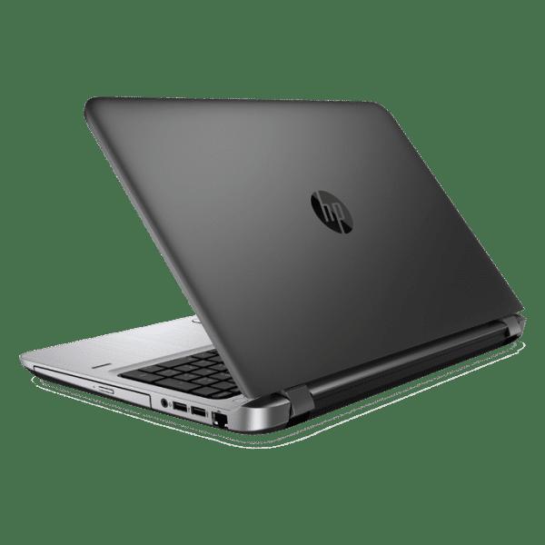 Productafbeelding van zij- en achterkant HP ProBook 450 G3 laptop