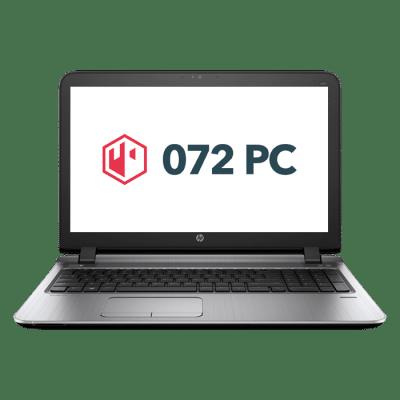 Productafbeelding van voorkant HP ProBook 450 G3 laptop