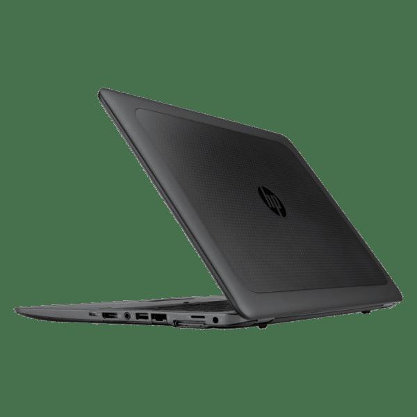 Productafbeelding van zij- en achterkant HP Zbook 15u G3 laptop