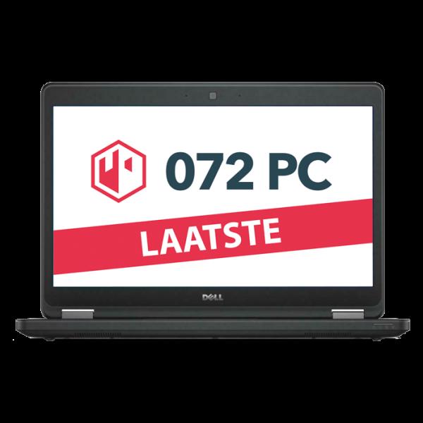 Productafbeelding van voorkant Dell Latitude E5440 laptop met tekst 'laatste' in beeld