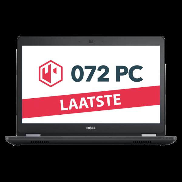Productafbeelding van voorkant Dell Latitude E5470 laptop met tekst 'laatste' in beeld