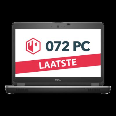 Productafbeelding van voorkant Dell Latitude E6440 laptop met tekst 'laatste' in beeld